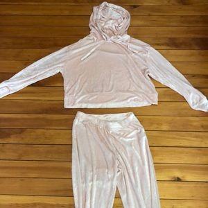 Velvet Pajama Set